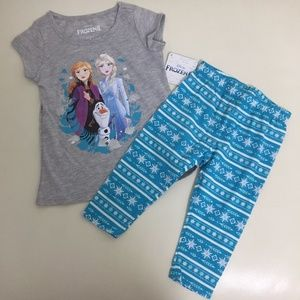 Disney FROZEN Elsa LEGGINGS set